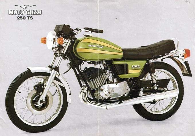 moto guzzi 250 ts specs 1974 1975 1976 1977 1978. Black Bedroom Furniture Sets. Home Design Ideas
