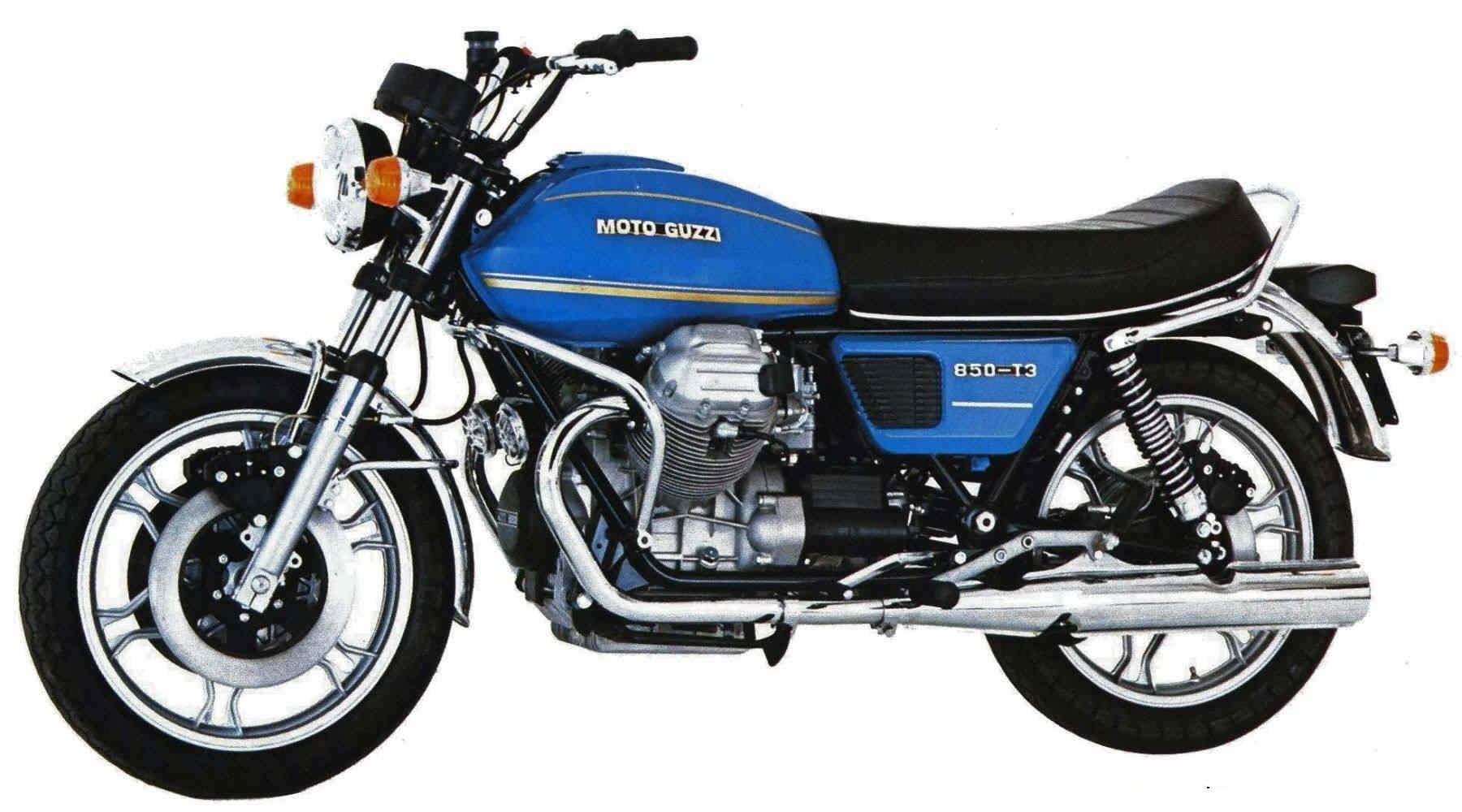 moto guzzi 850 t 3 specs 1979 1980 autoevolution. Black Bedroom Furniture Sets. Home Design Ideas
