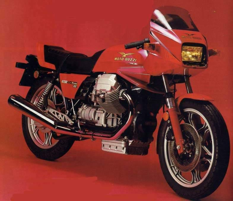 moto guzzi le mans iii specs 1982 1983 autoevolution. Black Bedroom Furniture Sets. Home Design Ideas