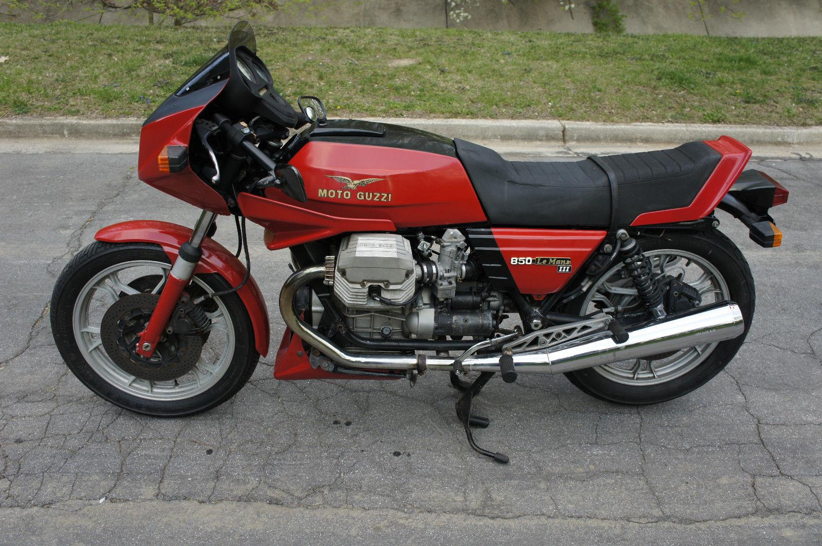 moto guzzi le mans iii 1983 1984 autoevolution