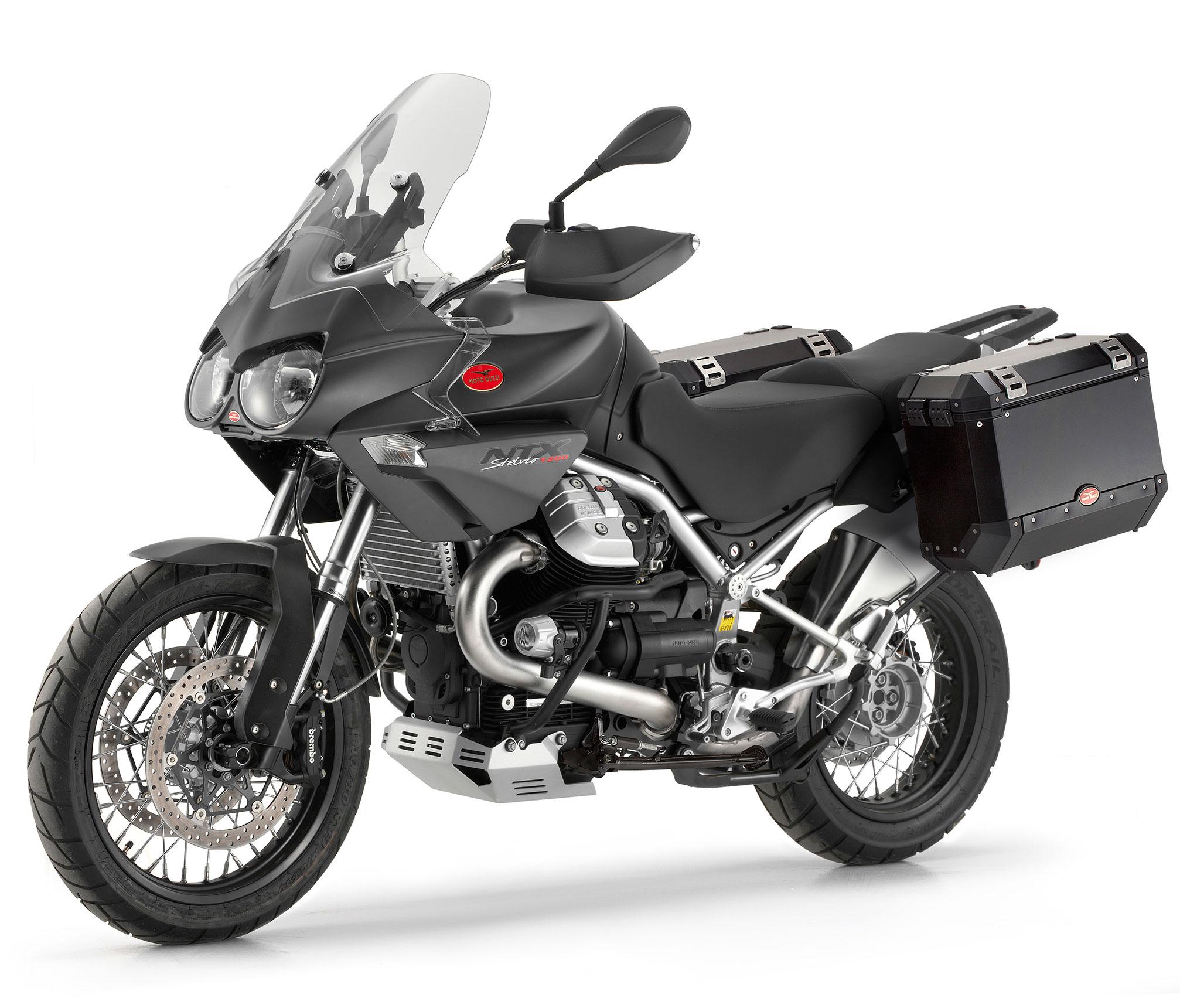 Three Moto Guzzi V7 Models Coming To America For 2013: MOTO GUZZI Stelvio 1200 NTX Specs