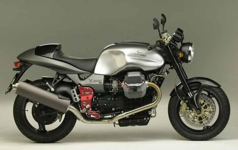 MOTO GUZZI V 11 Sport Rosso Mandello specs - 2001, 2002