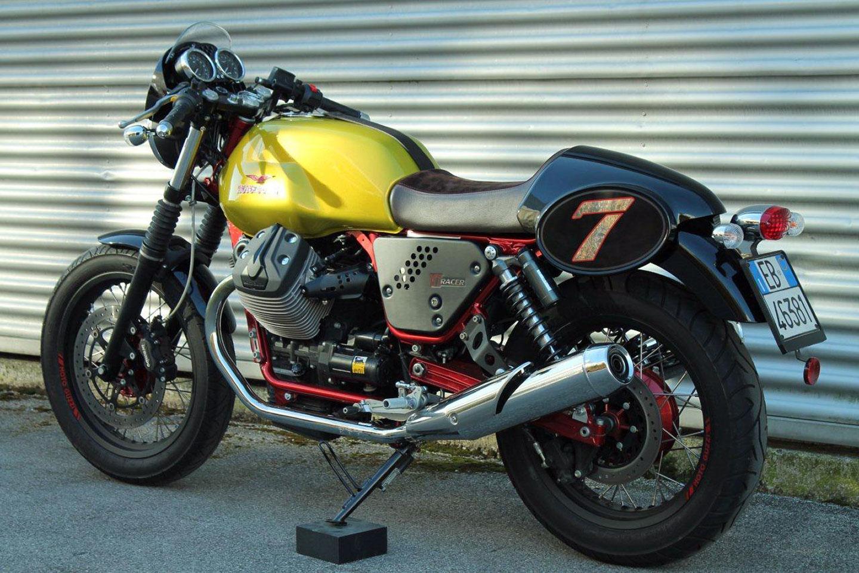 moto guzzi v7 ii racer limited edition 2014 2015. Black Bedroom Furniture Sets. Home Design Ideas