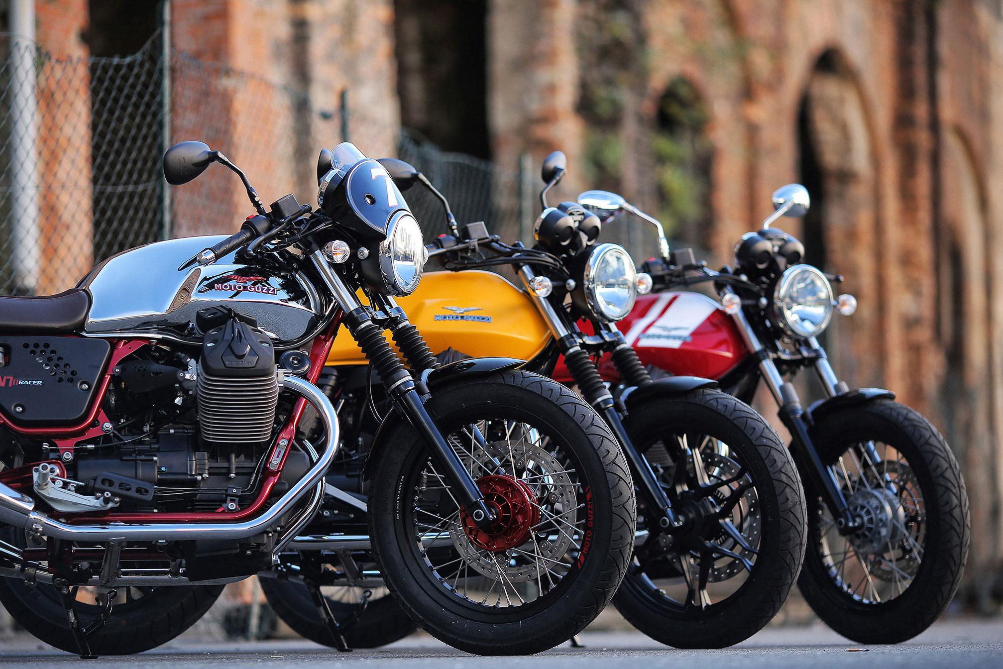 2020 Moto Guzzi V7 III Rough Guide • Total Motorcycle