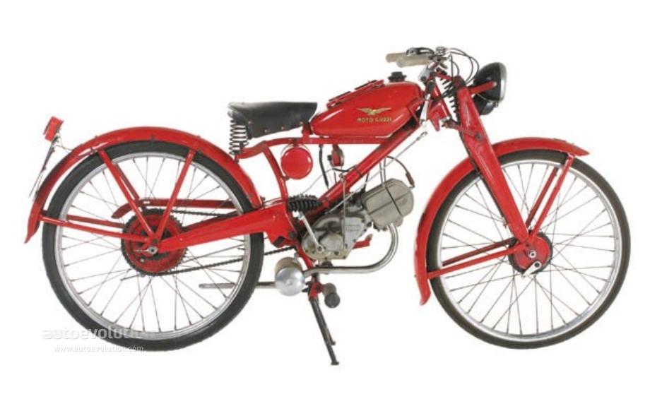 Moto Guzzi Motoleggera 65 Specs 1946 1947 1948 1949