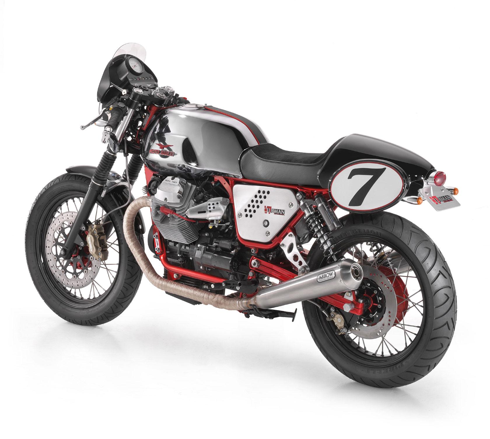 moto guzzi v7 clubman racer 2009 2010 autoevolution. Black Bedroom Furniture Sets. Home Design Ideas