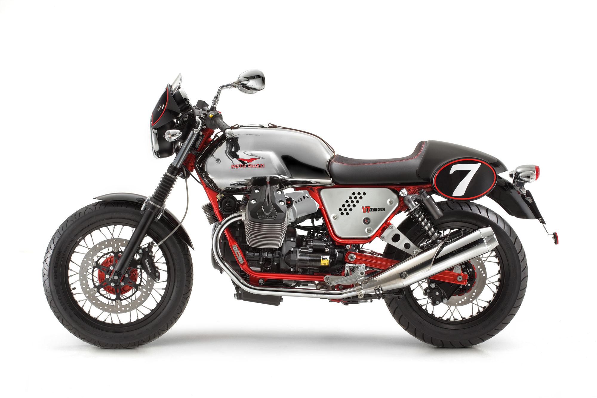 moto guzzi v7 racer specs 2012 2013 autoevolution. Black Bedroom Furniture Sets. Home Design Ideas