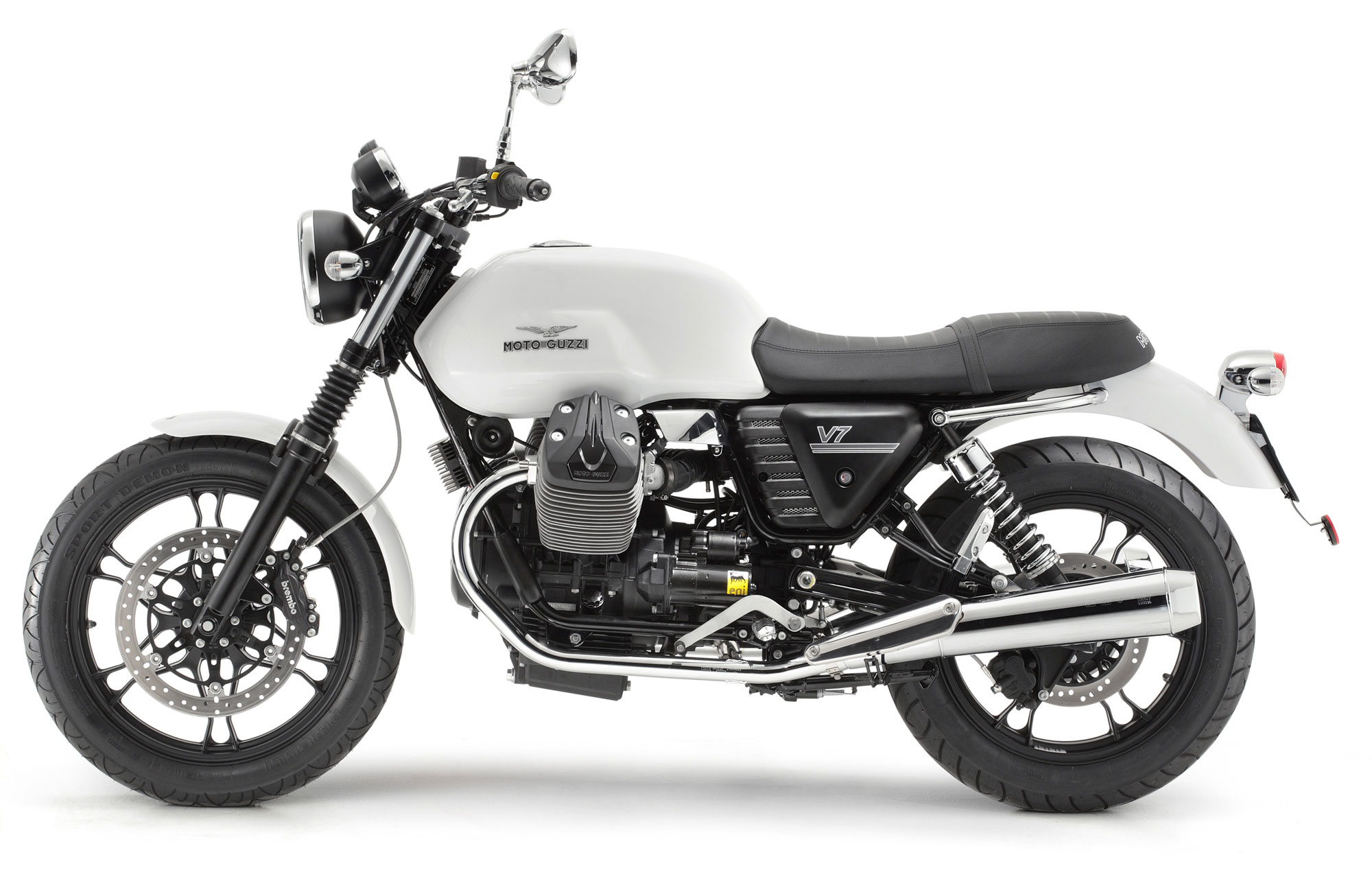 moto guzzi v7 stone specs 2012 2013 autoevolution. Black Bedroom Furniture Sets. Home Design Ideas