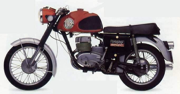 Mz Ets 250 Trophy Sport 1971 1972 Autoevolution