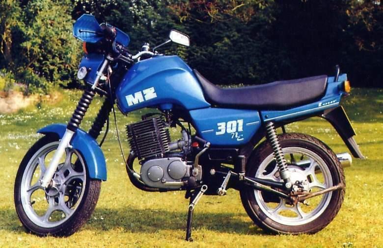 MZ ETZ 301 specs - 1988, 1989, 1990, 1991, 1992