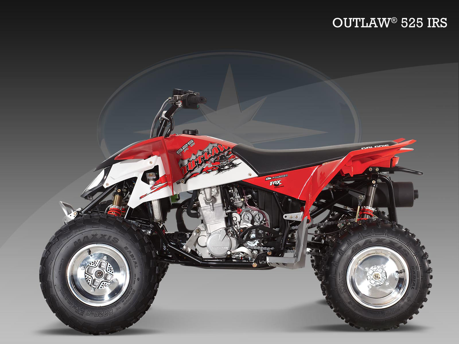 polaris outlaw 525 irs specs 2009 2010 autoevolution. Black Bedroom Furniture Sets. Home Design Ideas