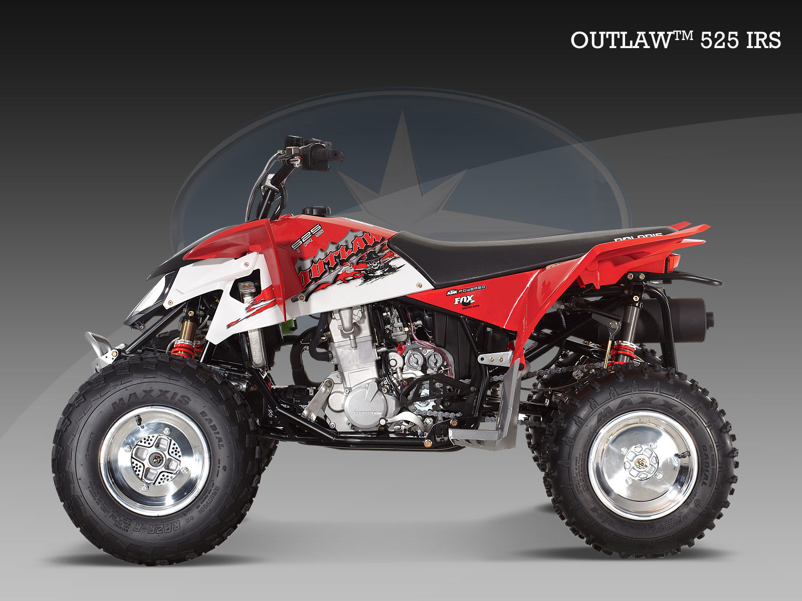... POLARIS Outlaw 525 IRS (2008 - 2009)
