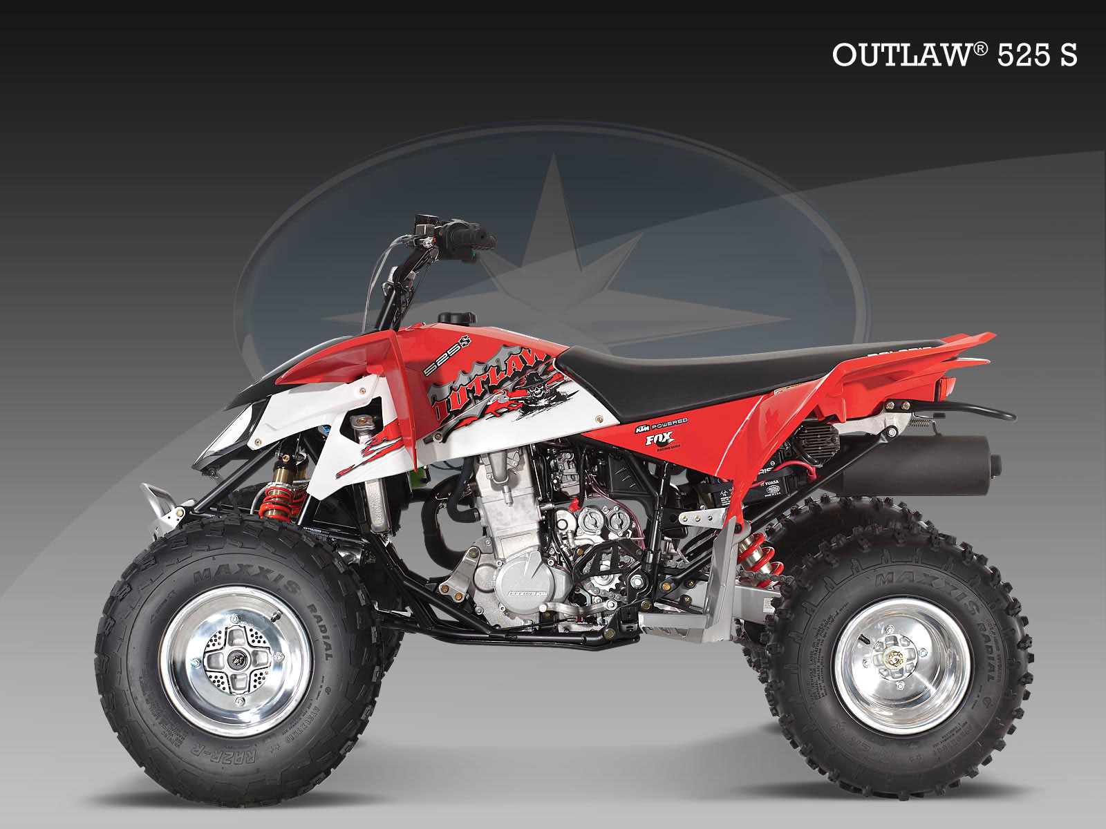 polaris outlaw 525 s specs 2009 2010 autoevolution. Black Bedroom Furniture Sets. Home Design Ideas