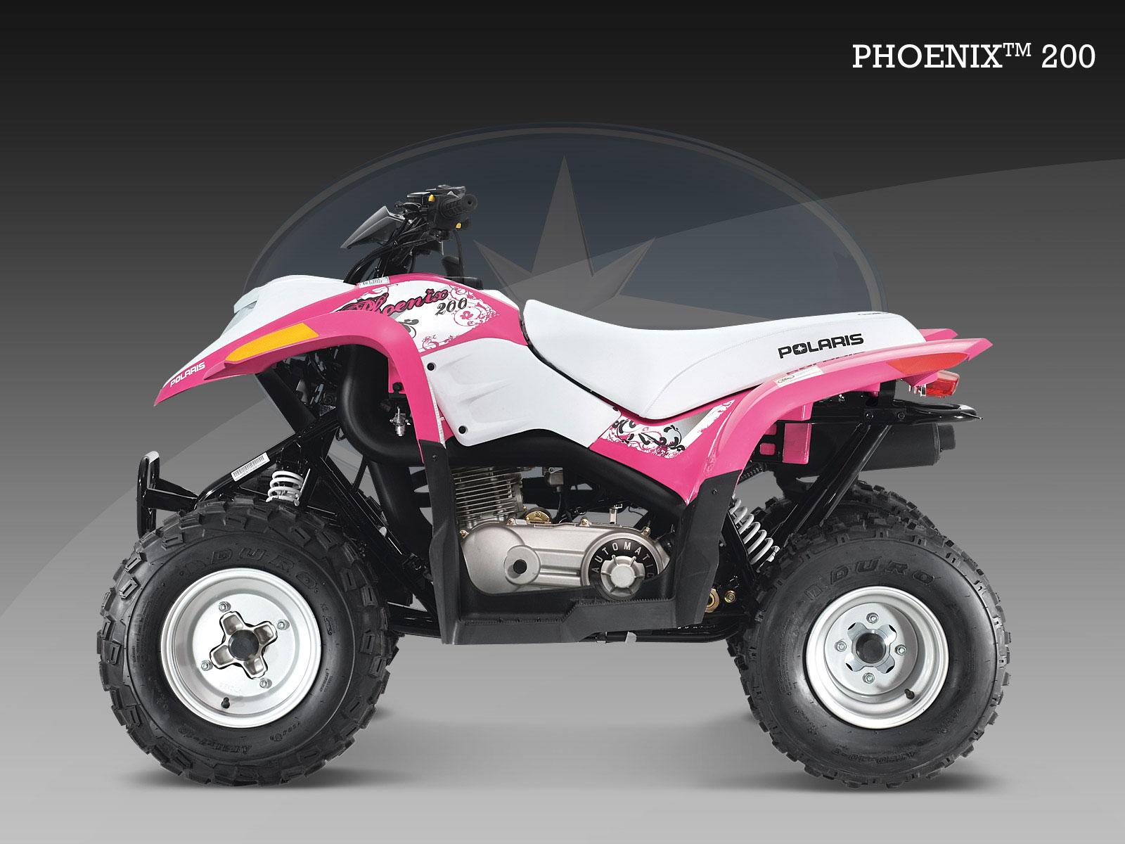 Polaris Phoenix 200 Specs - 2008  2009