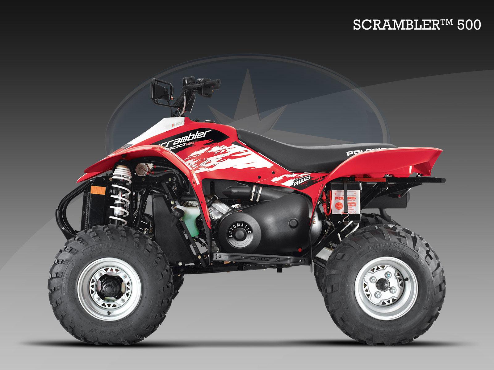 polaris scrambler 500 4x4 specs - 2008  2009