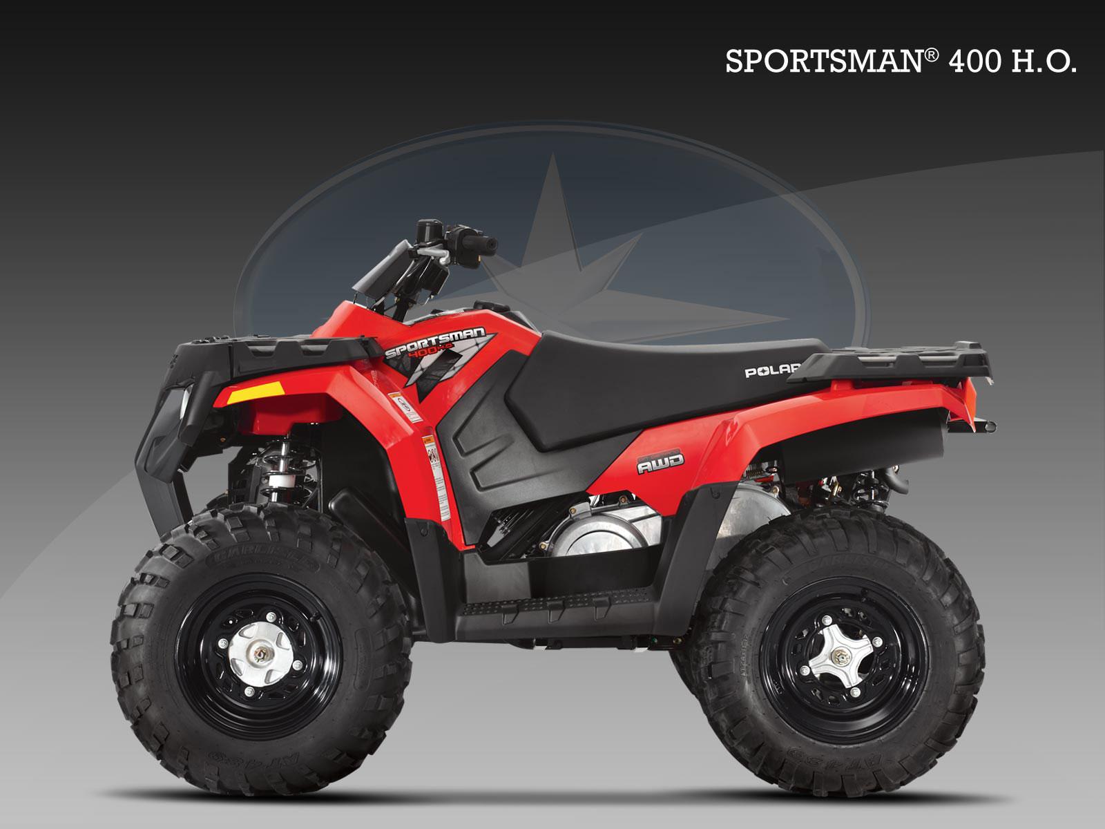 POLARIS Sportsman 400 H.O. specs - 2009, 2010 - autoevolution