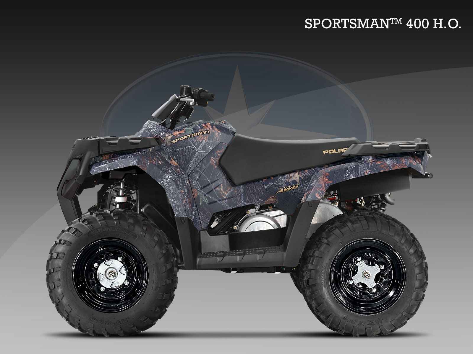 POLARIS Sportsman 400 H.O. specs - 2008, 2009 - autoevolution