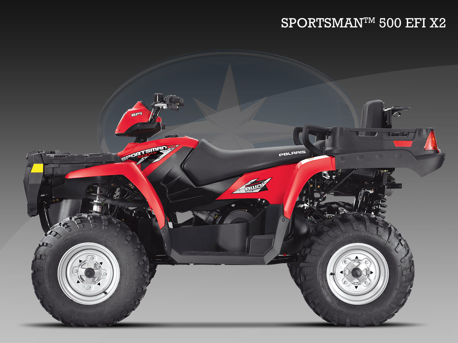 polaris sportsman 500 efi x2 specs 2008 2009 autoevolution. Black Bedroom Furniture Sets. Home Design Ideas