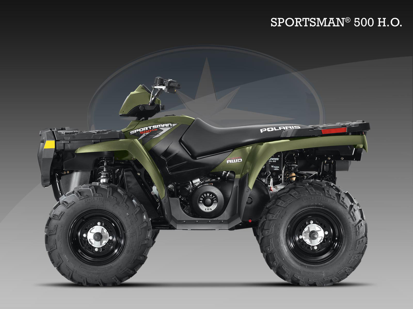 polaris sportsman 500 h o specs 2009 2010 autoevolution. Black Bedroom Furniture Sets. Home Design Ideas