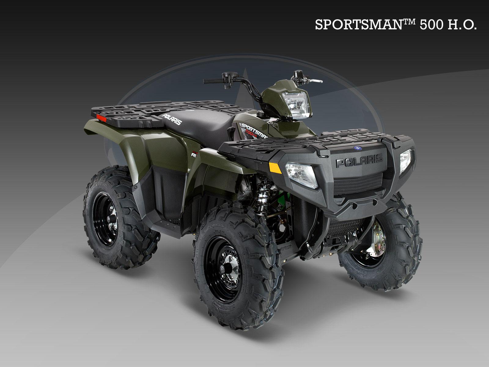 POLARIS Sportsman 500 H O  specs - 2008, 2009 - autoevolution