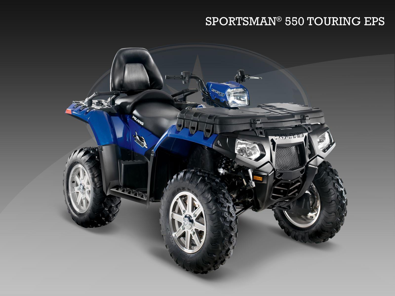 quad polaris 550 sportsman
