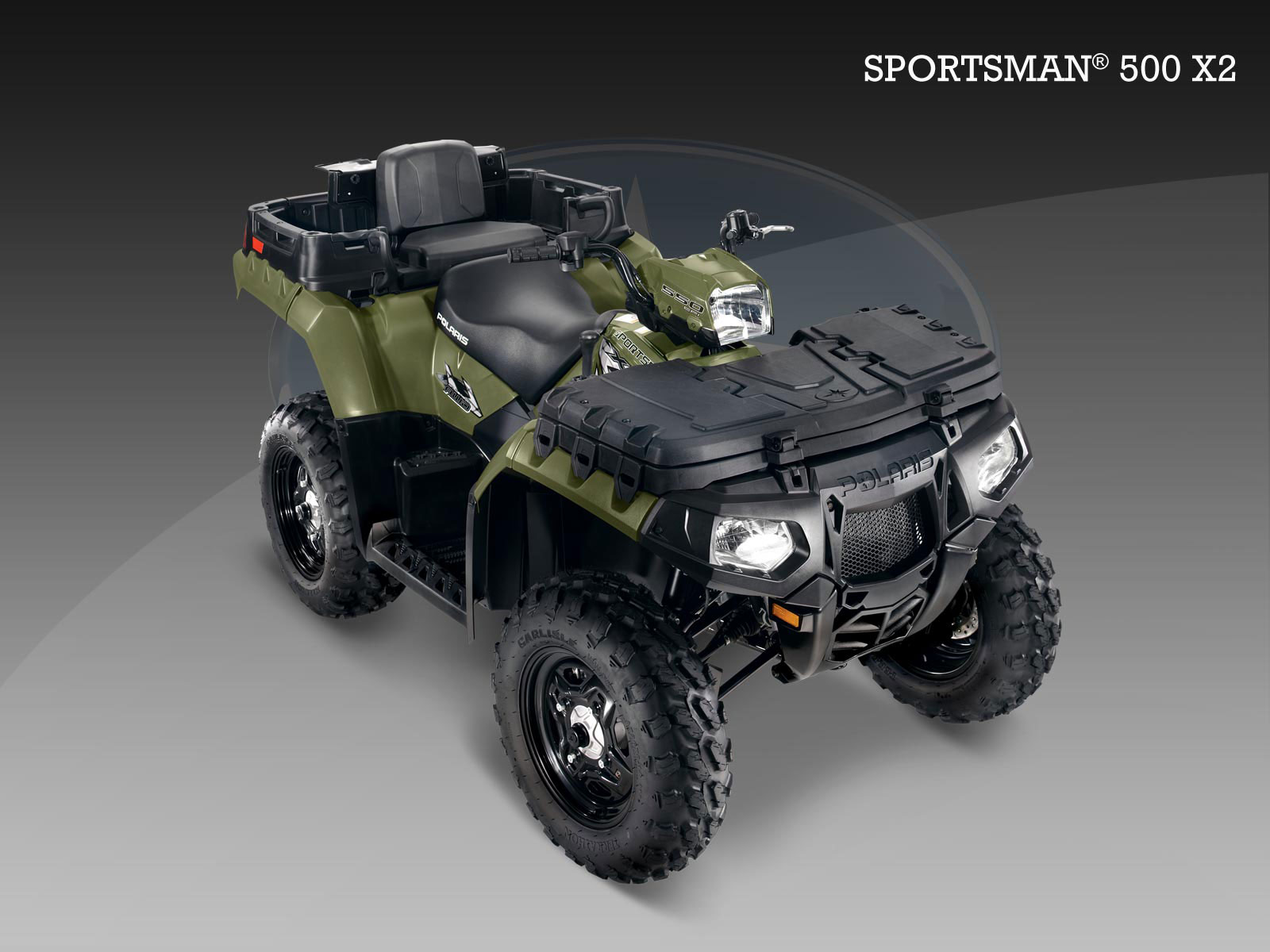 polaris sportsman 550 x2 specs 2009 2010 autoevolution. Black Bedroom Furniture Sets. Home Design Ideas