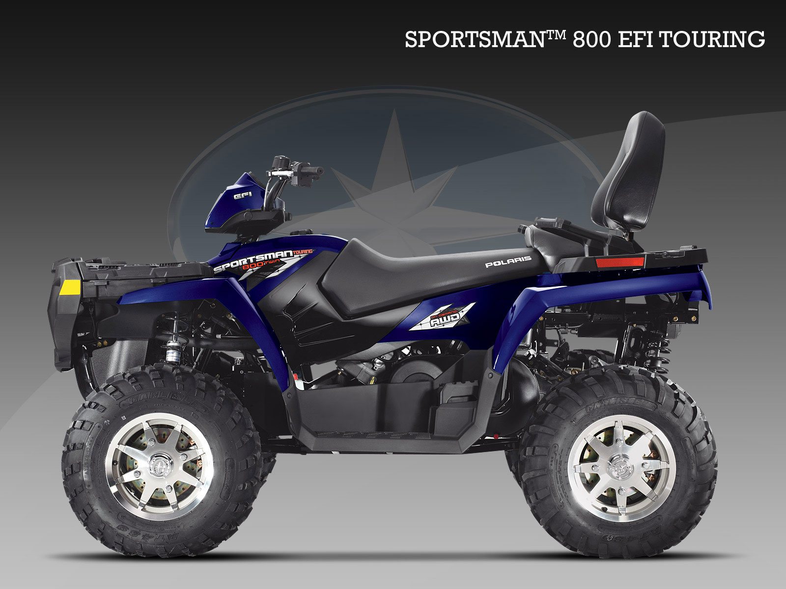 polaris sportsman 800 efi touring specs 2008 2009 autoevolution. Black Bedroom Furniture Sets. Home Design Ideas