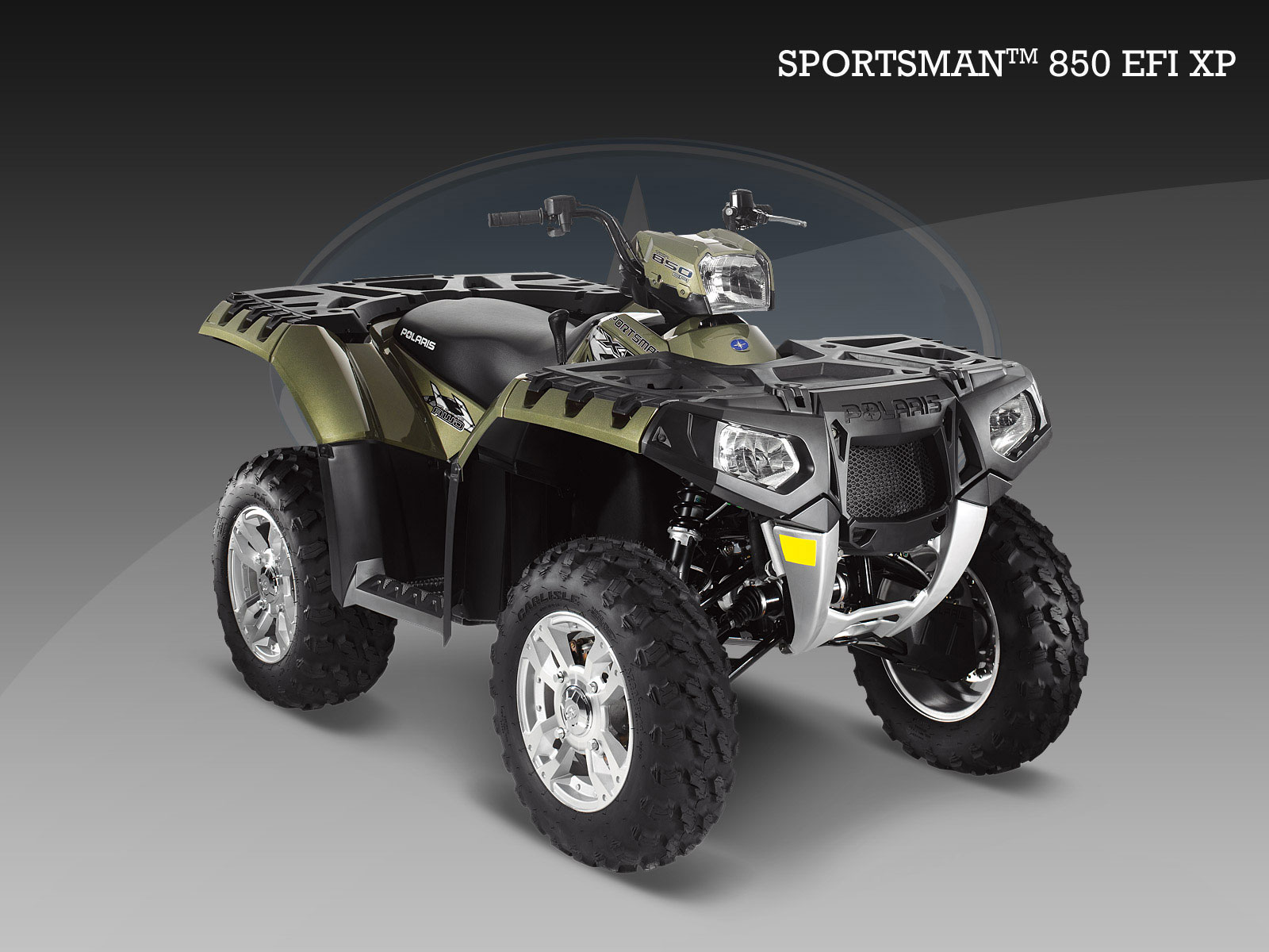 POLARIS Sportsman 850 EFI XP Photo Gallery #3/3