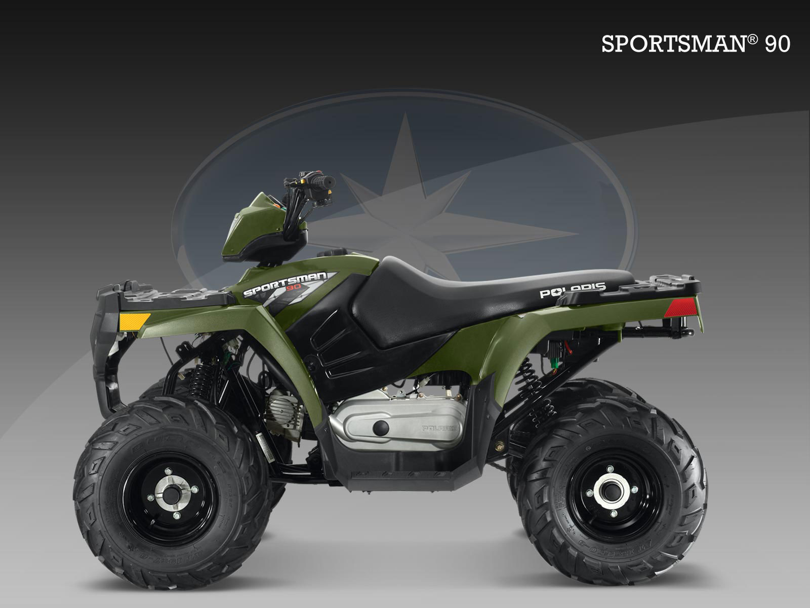 POLARIS Sportsman 90 specs - 2009, 2010 - autoevolution