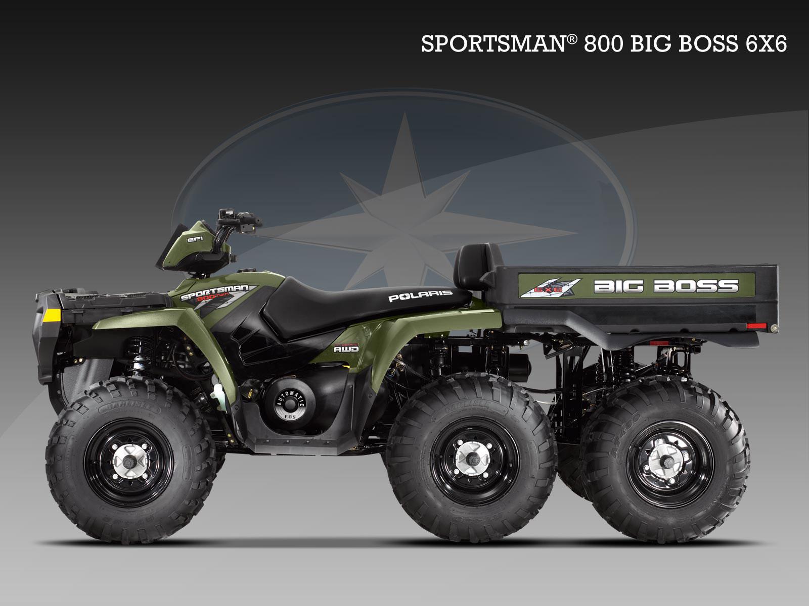 Polaris sportsman big boss 6x6 800 2009 2010