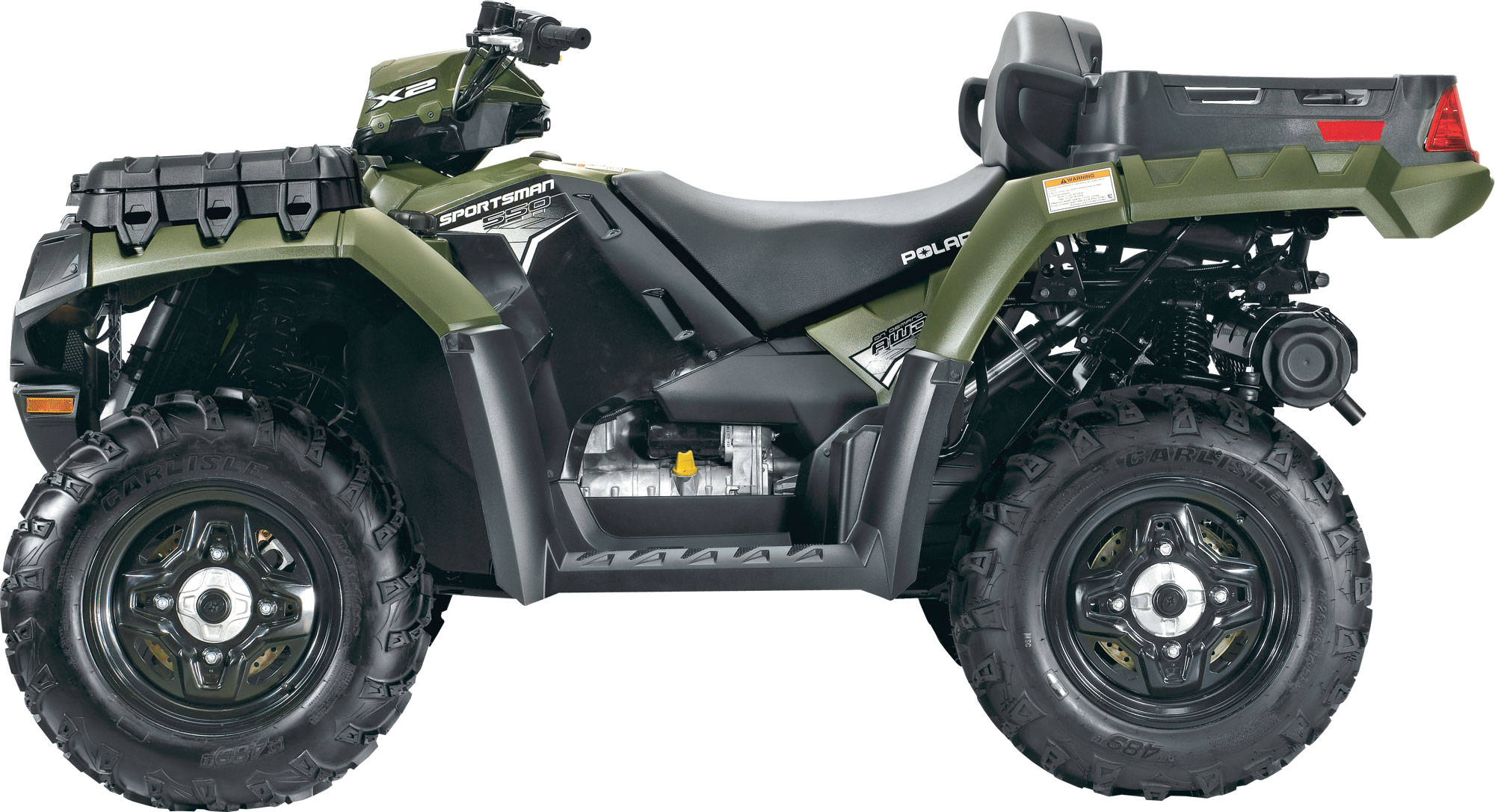 Polaris Sportsman X2 550 Specs - 2011  2012