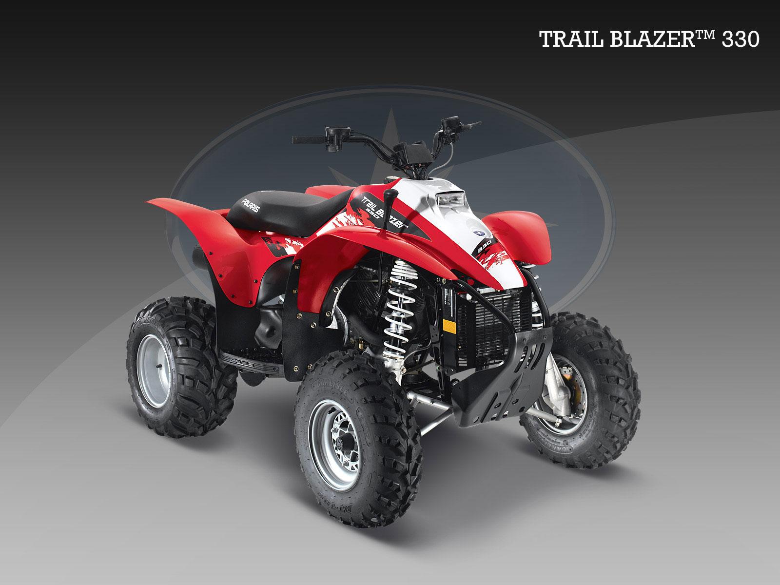 quad polaris 330 trail blazer