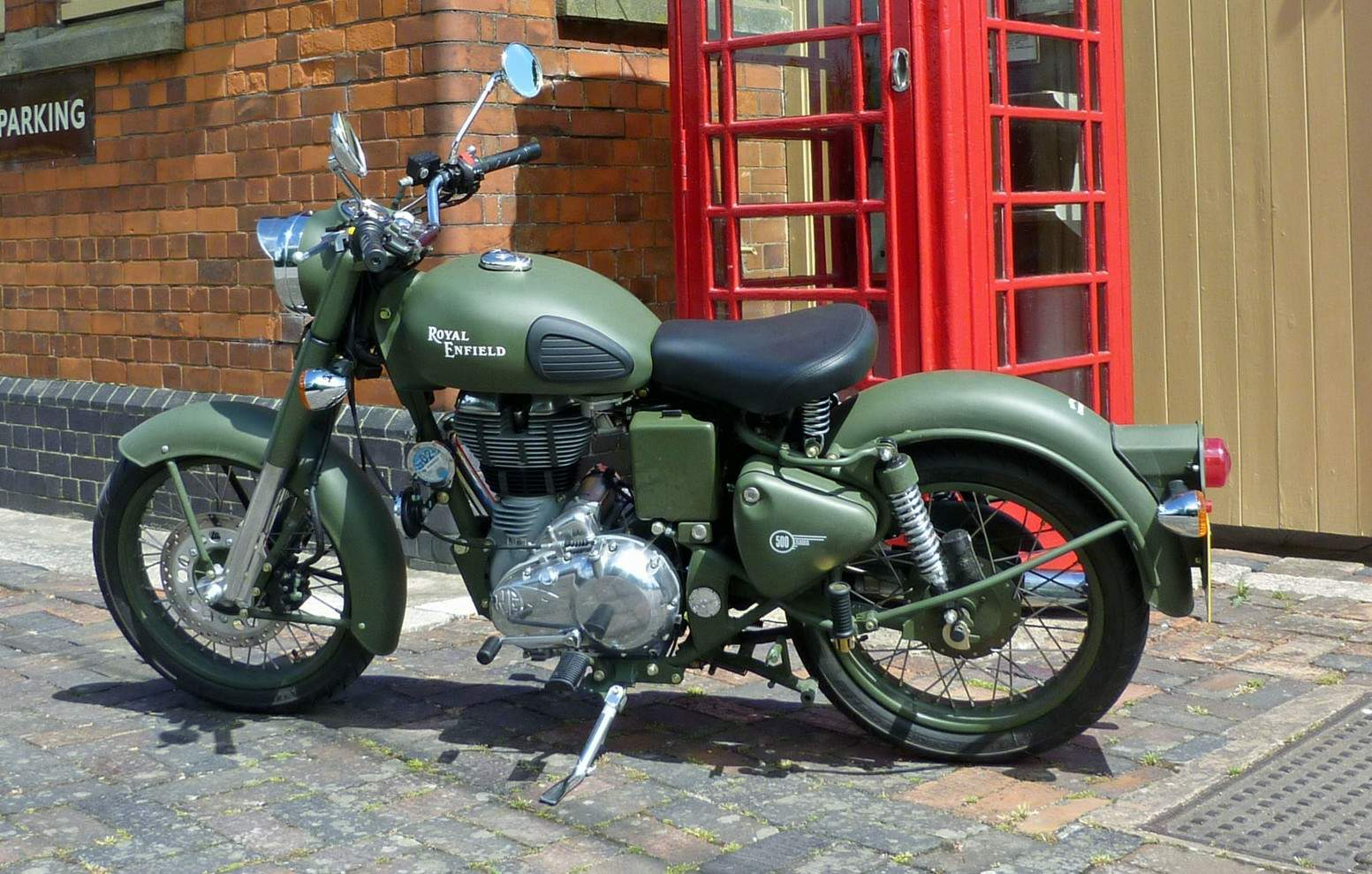 Enfield Bullet Seat Height