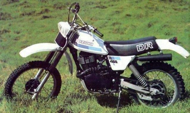 SUZUKI DR 400 S specs - 1980, 1981, 1982, 1983, 1984, 1985