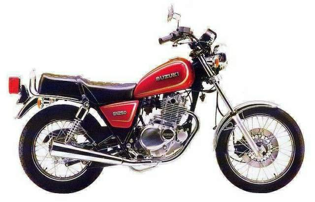 suzuki gn 250 specs 1982 1983 1984 1985 1986 1987. Black Bedroom Furniture Sets. Home Design Ideas