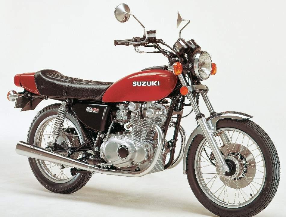 Suzuki Gs 400 Specs - 1976  1977  1978  1979
