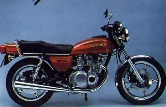 Suzuki Gs E on 1979 Suzuki Gs550