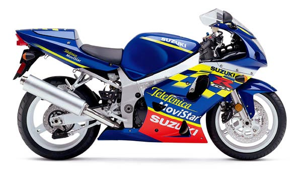 suzuki gsx r600m movistar telefonica specs 2001 2002 autoevolution. Black Bedroom Furniture Sets. Home Design Ideas