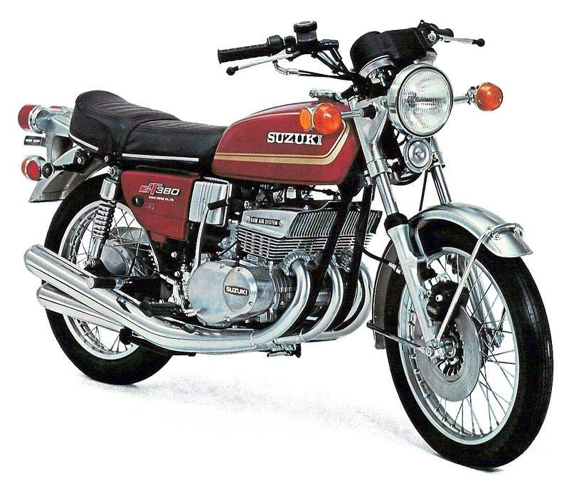 suzuki gt 380 specs 1972 1973 1974 1975 1976 1977. Black Bedroom Furniture Sets. Home Design Ideas