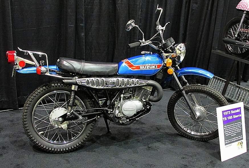 SUZUKI TS 185 SIERRA specs - 1971, 1972 - autoevolution