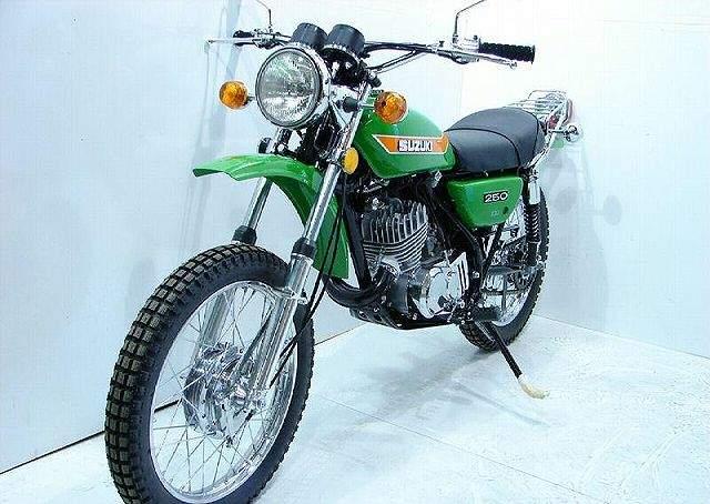 SUZUKI TS 250 specs - 1973, 1974, 1975, 1976, 1977, 1978