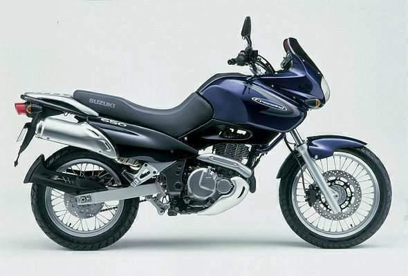 SUZUKI XF 650 Freewind specs - 1997, 1998, 1999, 2000