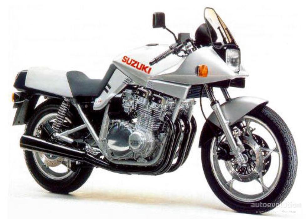 SUZUKI GSX 1100 S Katana specs - 1981, 1982, 1983, 1984