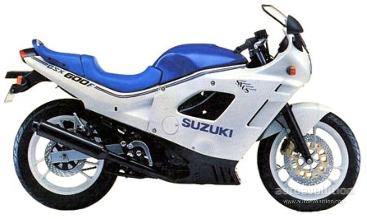 suzuki gsx 600 f specs 1987 1988 1989 1990 1991. Black Bedroom Furniture Sets. Home Design Ideas