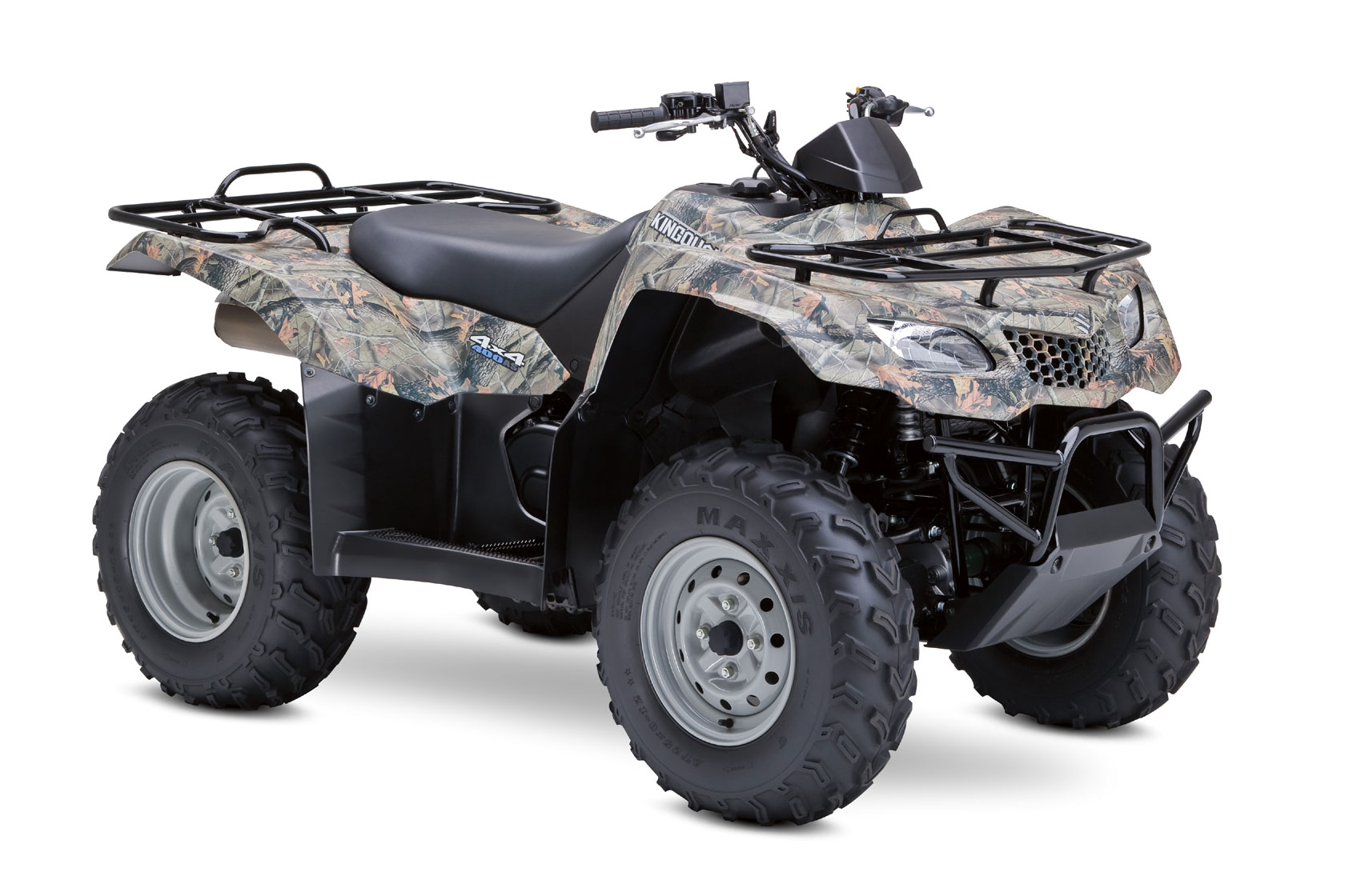 suzuki kingquad 400 as camo 2008 2009 autoevolution. Black Bedroom Furniture Sets. Home Design Ideas