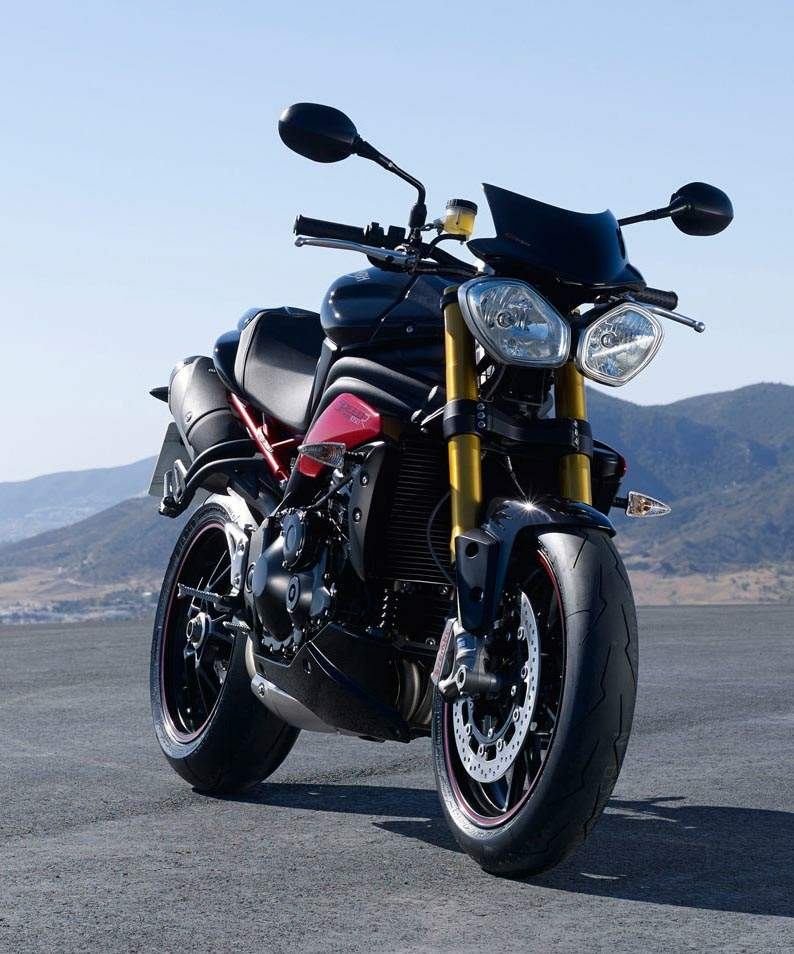 triumph speed triple r specs 2014 2015 autoevolution. Black Bedroom Furniture Sets. Home Design Ideas