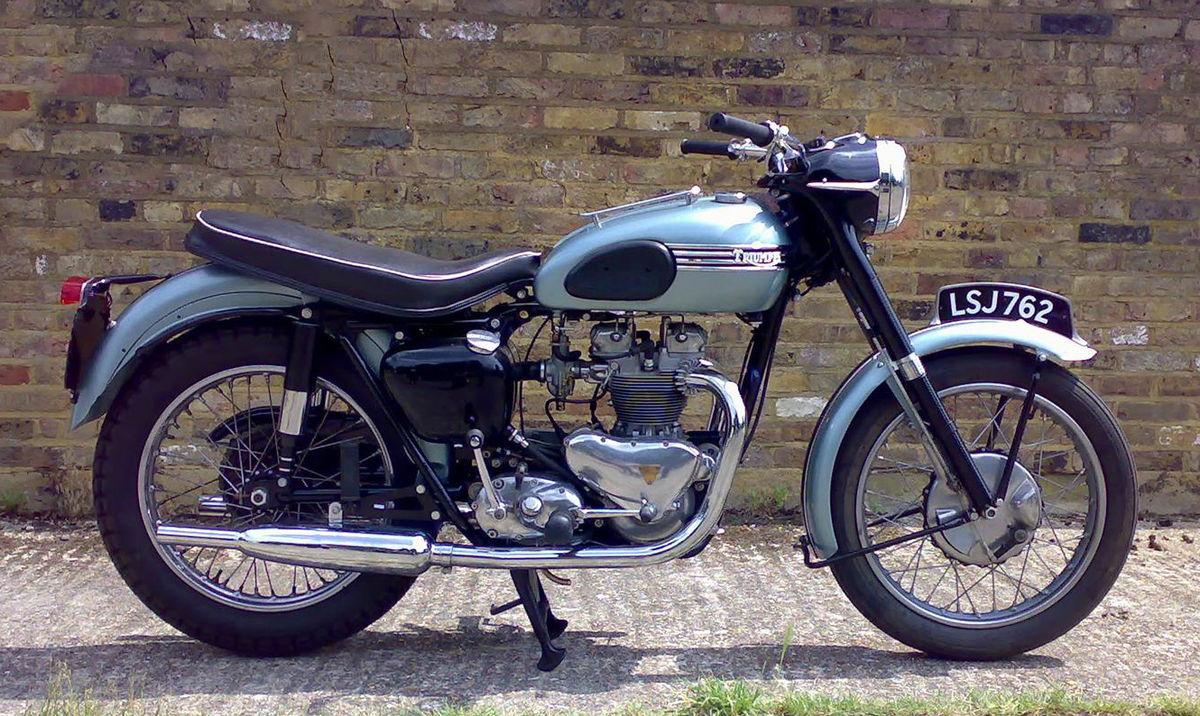 triumph tiger t100 specs 1952 1953 1954 1955 1956. Black Bedroom Furniture Sets. Home Design Ideas