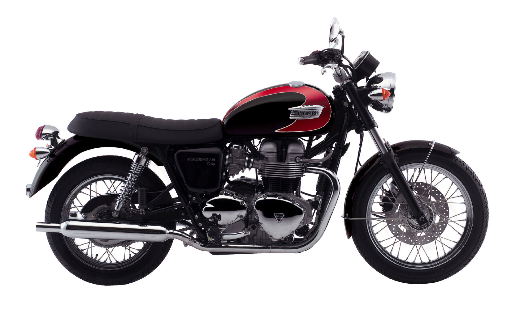 triumph bonneville t100 specs 2007 2008 autoevolution. Black Bedroom Furniture Sets. Home Design Ideas