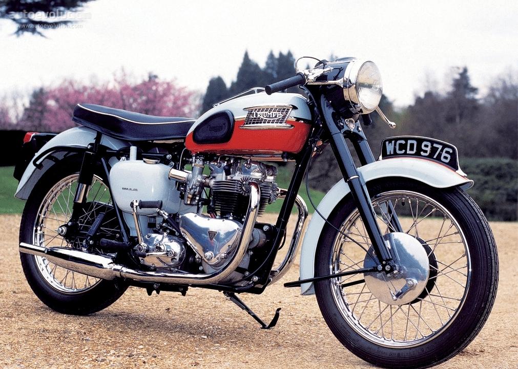 TRIUMPH Bonneville T 120 1959