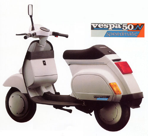 vespa pk 50 n speedmatic specs 1992 1993 1994 1995. Black Bedroom Furniture Sets. Home Design Ideas